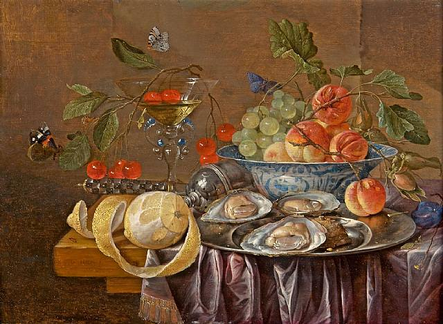 4000579_Still_Life_with_Oysters_on_a_Silver_Plate_Fruit_and_a_Facon_de_Venise_Glass_ (640x469, 69Kb)