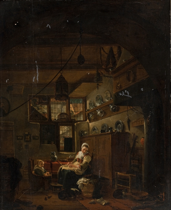 4000579_Interior_of_a_Dutch_Farm_Cottage__1642 (570x700, 266Kb)