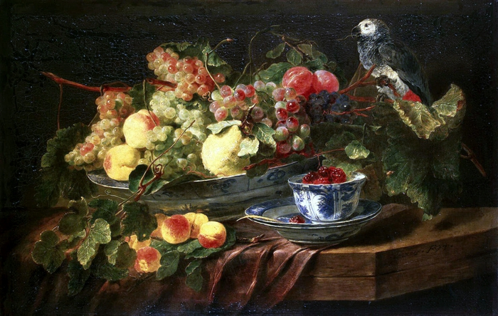 4000579_FYT_Jan_Still_Life_With_Fruits_And_Parrot (700x444, 282Kb)