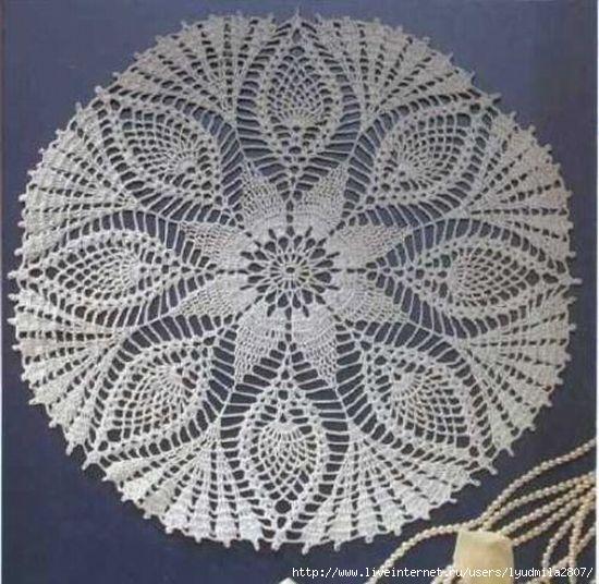 Для вязания салфетки