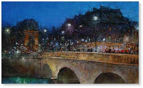 7 Париж. Pont st.Michel (502x311, 28Kb)