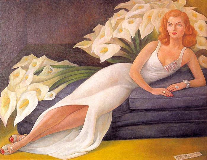 Portrait of Natasha Zakólkowa Gelman, 1943 (700x539, 146Kb)