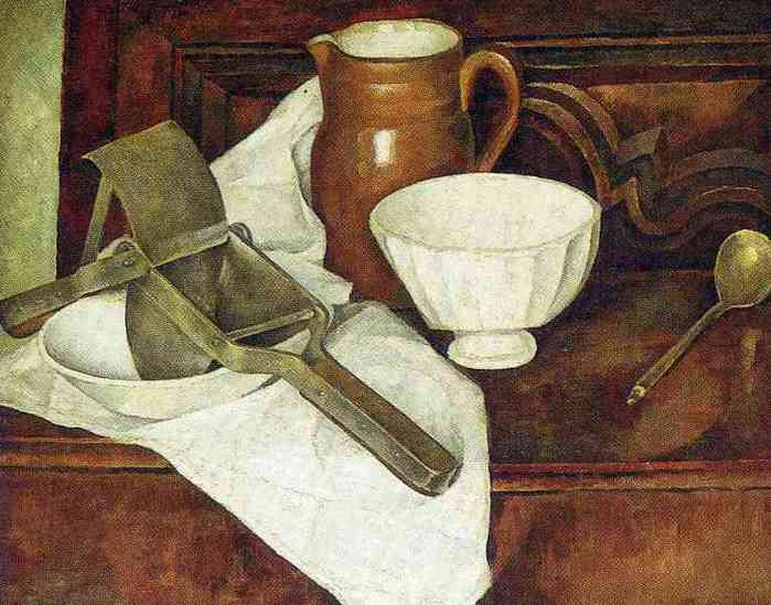 Still Life with Ricer also known as Still Life with Garlic Press, 1918 (700x549, 38Kb)