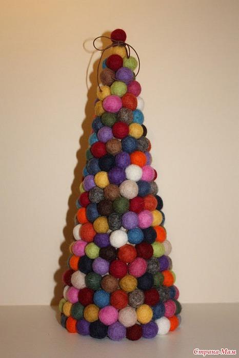 33 идеи как своими руками сделать новогоднюю елку Технические концепции & дизайнерские идеи - ArtKitsch.ru