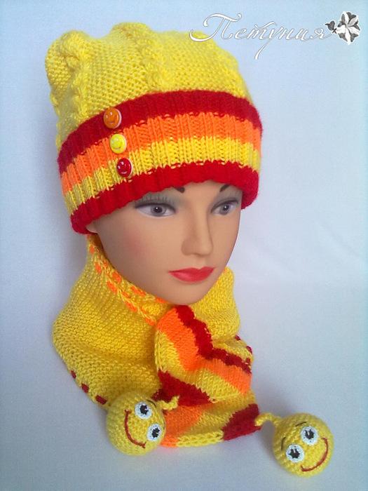 """针织套装:佩妮的""""微笑"""" - maomao - 我随心动"""