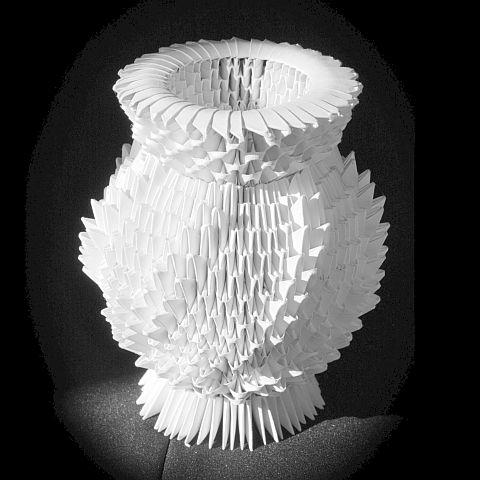 оригами, 3D origami, Схема