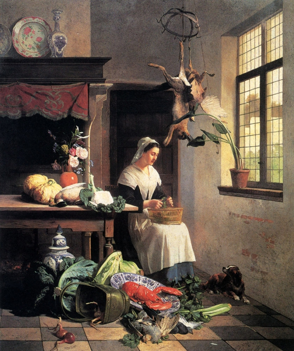 4000579_Noter_David_Emil_Joseph_De_A_Maid_In_The_Kitchen (587x700, 368Kb)