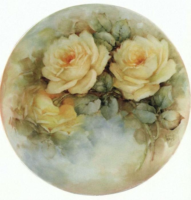 Декупажные картинки цветы 2
