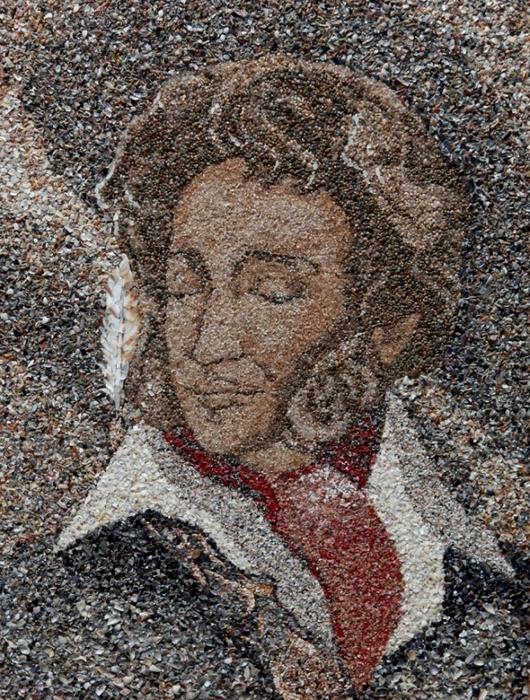 картины из песка и ракушек светлана иванченко 8 (530x700, 410Kb)