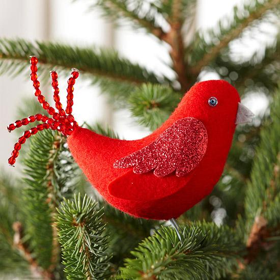 Гусак из фетра также может послужить прекрасной... / Дизайн / Новогодние игрушки / Pinme.ru / Atena