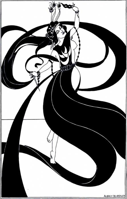 Aubrey Beardsley's Salomé, 1907She.