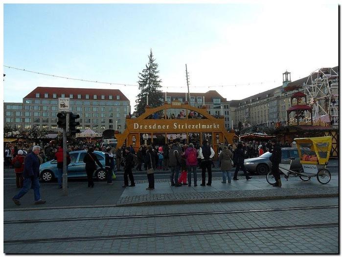 Больная рождественская ёлка Дрездена. 62416