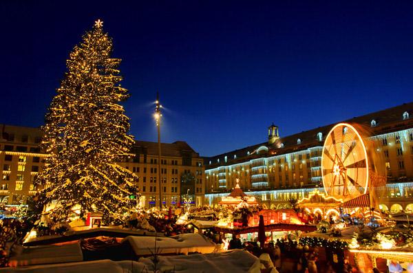 Больная рождественская ёлка Дрездена. 83685