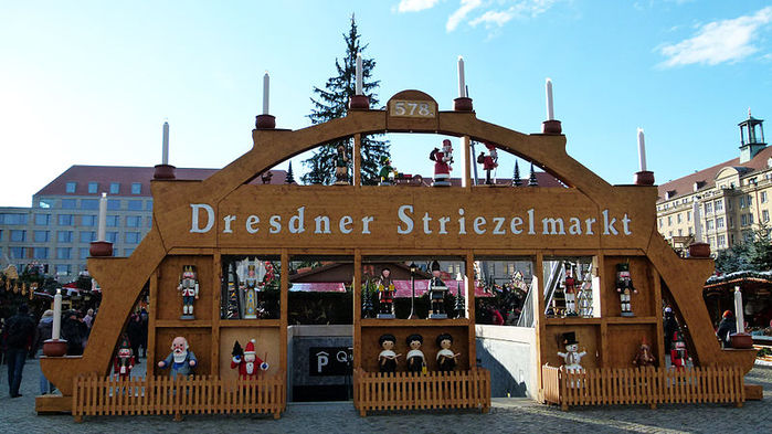 Больная рождественская ёлка Дрездена. 67729