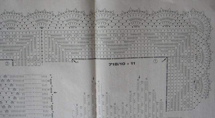 Стола спицами схемы и