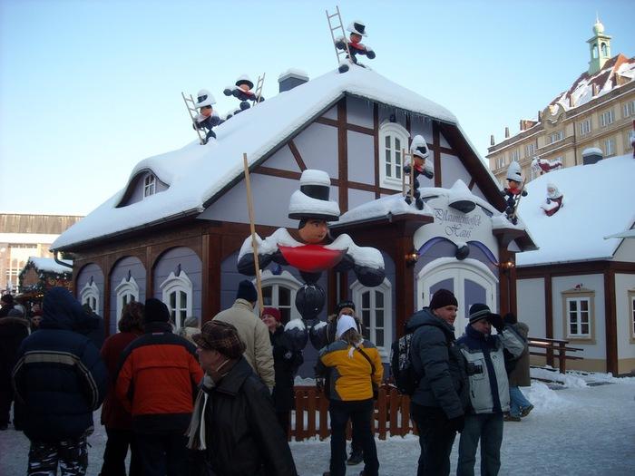 Больная рождественская ёлка Дрездена. 56160