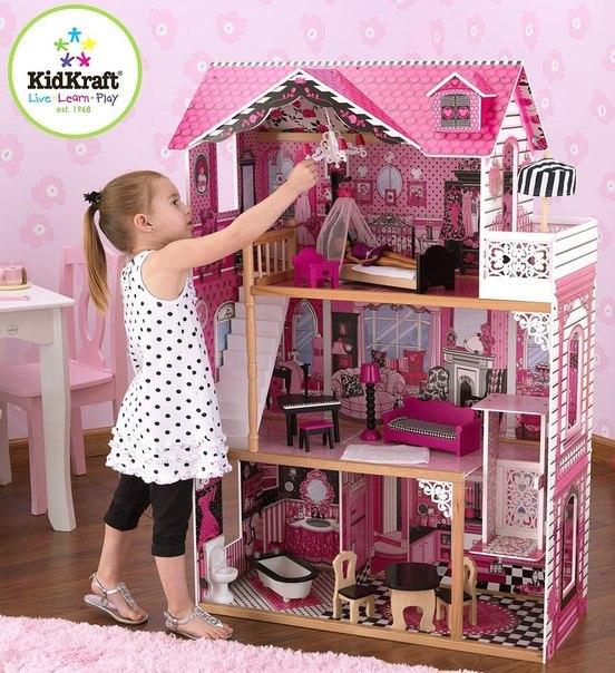 Сделать домик для кукол из фанеры своими