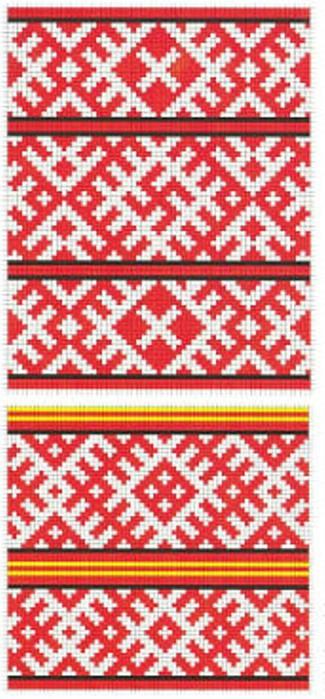 Старославянская вышивка -