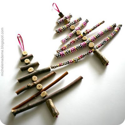 Wooden Stick Christmas Trees (400x400, 26Kb)