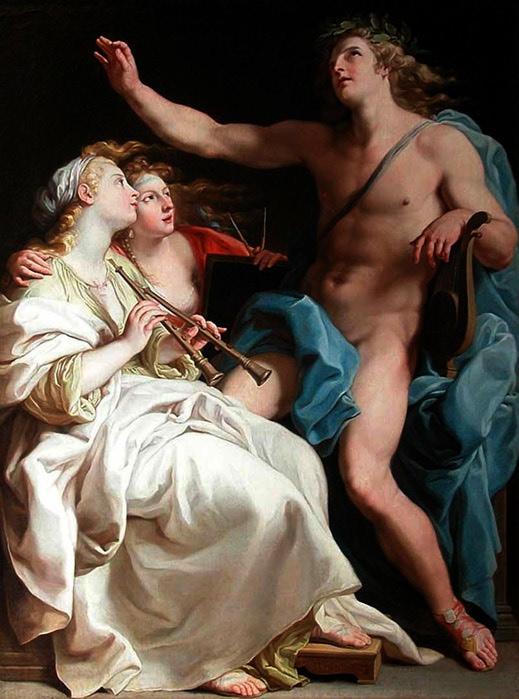 «Аполлон, дающий урок музыки» 1741 (519x700, 96Kb)