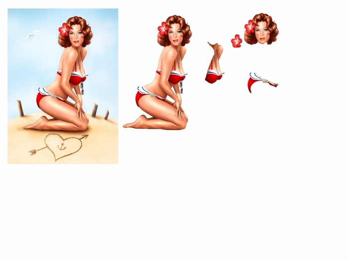 pin up maillot rouge (700x525, 83Kb)