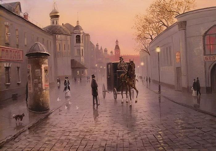 1 Вечерняя Москва (700x488, 542Kb)