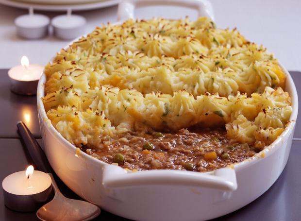 Shepherds Pie, шефердс пай, запеканки, с картошкой, с фаршем, кулинария, анютина кухня