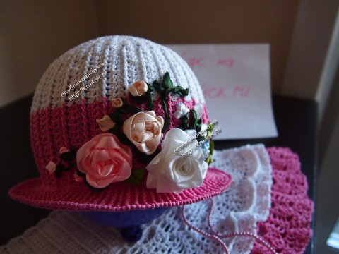 Схема вязания шляпки: