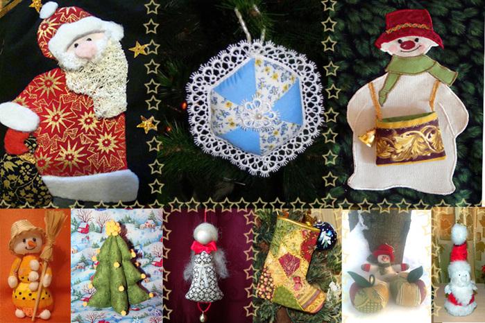 Новогодние украшения своими руками елочные и мягкие игрушки, . - Мастераполимернойглины.рф