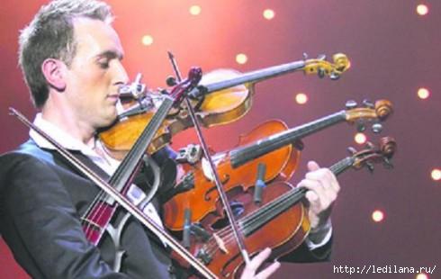 31-летний львовский скрипач Александр Божик (490x310, 85Kb)