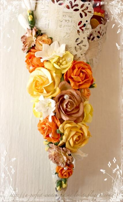 Candy hanger Loriete flowers (426x700, 229Kb)