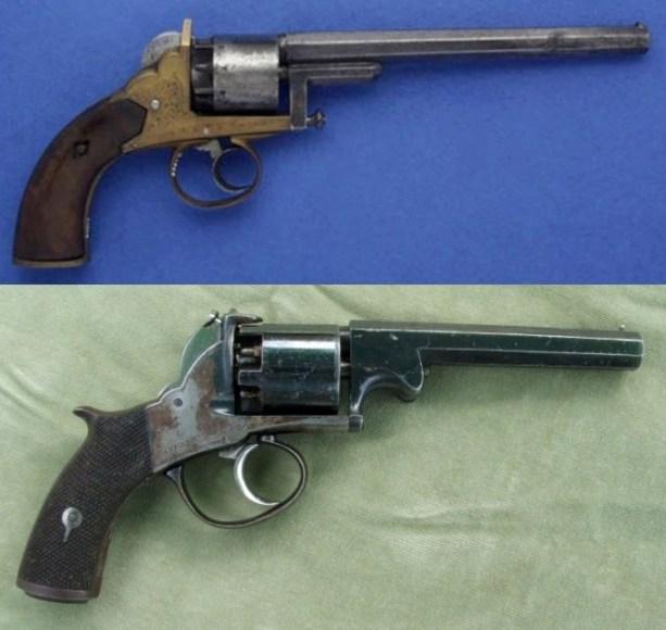 10 две версии револьвера Бентли (613x580, 76Kb)