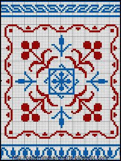 Alphabets et Motifs au Point de Croix N° 1 - 3 (240x318, 48Kb)