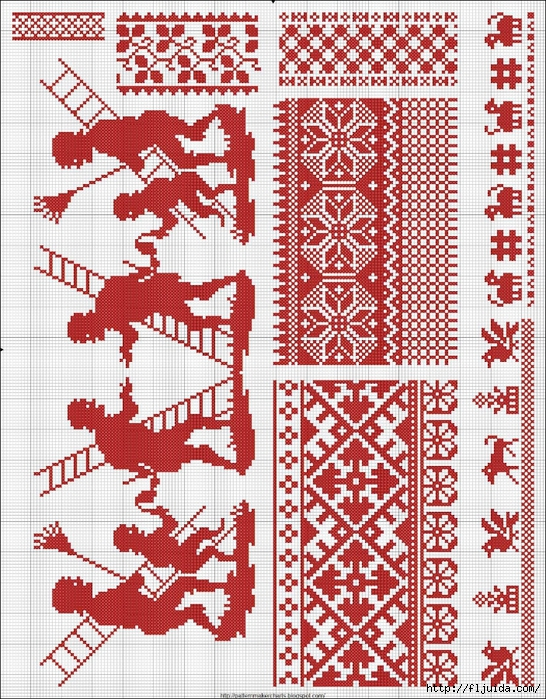Collected velikorusskih and malorossiyskih patterns for embroidery - 09 (546x700, 489Kb)