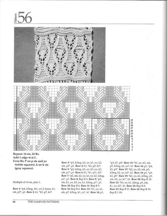 可织围巾的精致图案2 - maomao - 我随心动
