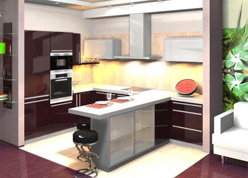 Проектирование кухни - процесс не только полезный, но и увлекательный, ведь любую, не зависимо от размеров и...