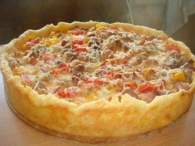 мясные пироги рецепты с фото