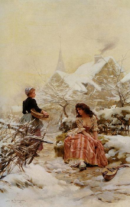 Schryver_Louis_Marie_De_Lhiver_Oil_on_Canvas-large (442x700, 53Kb)
