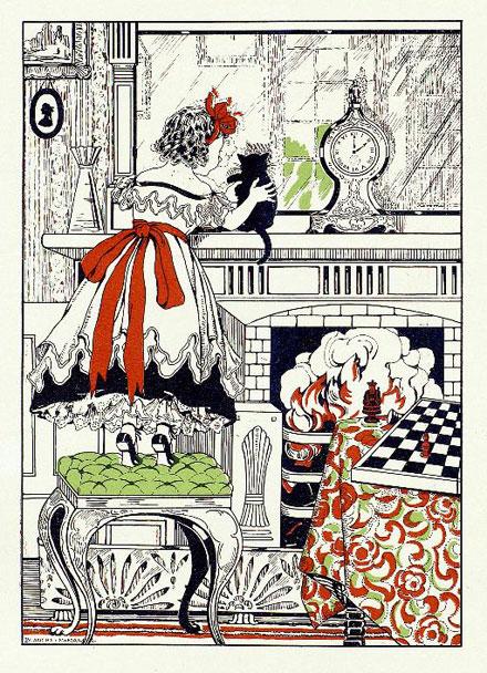 Illustrator illustrator liveinternet - Alice dietro lo specchio ...