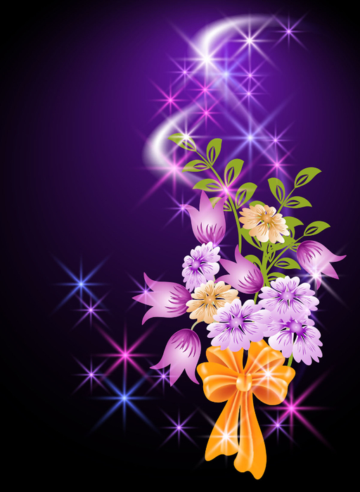 Animated flowers background gif