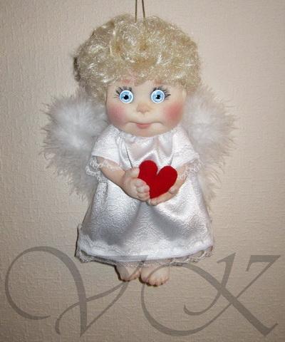 Куклы ангелы из колготок