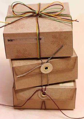 Схема упаковки: