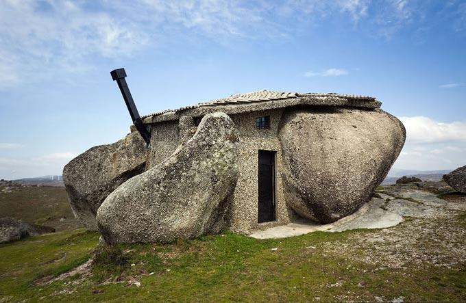 каменный дом португалия фото 5 (680x443, 70Kb)
