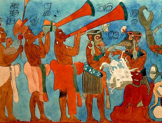 Майя индейцы (552x420, 53Kb)