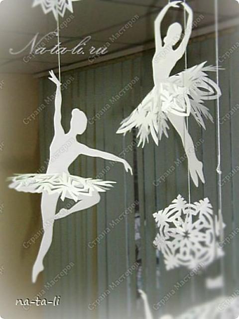 Балерина на елку своими руками