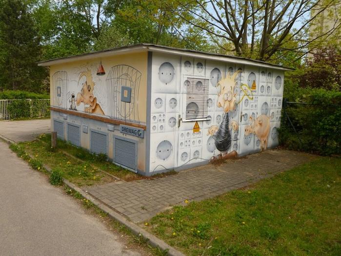 Граффити города Дрезден- часть 3. 99920