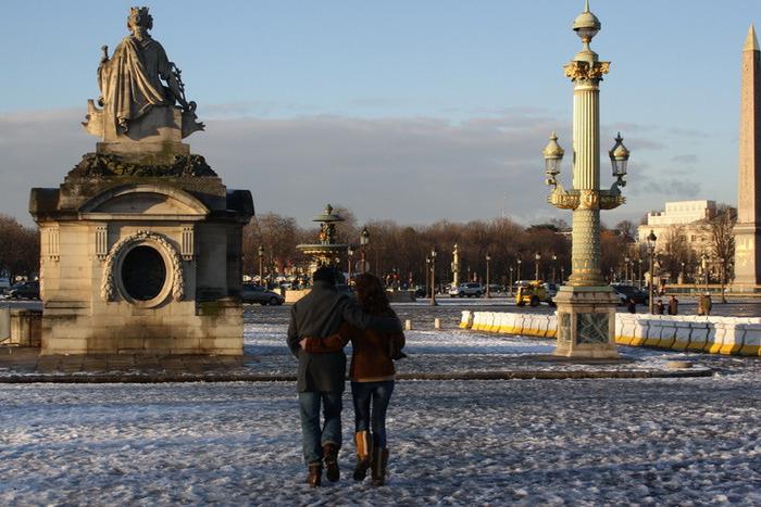фото погоды в париже