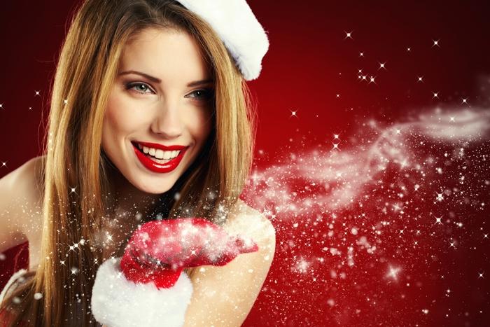 Фото красивые девушки снегурочки блондинки 26 фотография