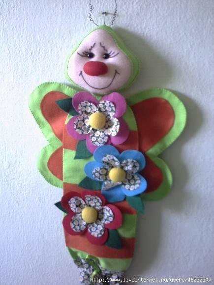Куклы пакетницы с выкройками