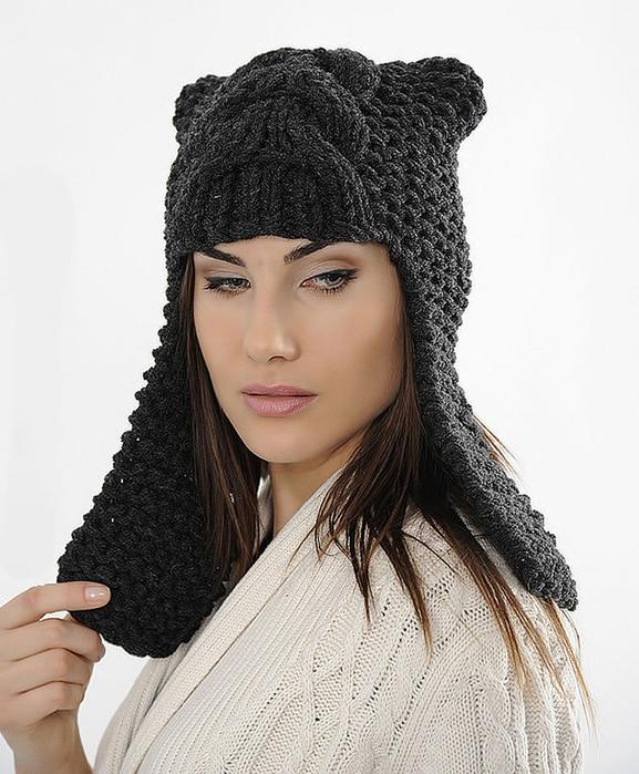 Самые модные вязаные шапки 2013 года.